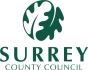 Surrey County Council Logo Steadfast